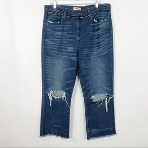 Madewell | Jeans | Wide Leg | Cropped | 31